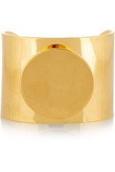 Arme De L'amour Circle Gold Plated Cuff