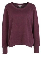 Esprit Sports Sweatshirt Berry Purple Dark Red