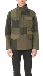 White Mountaineering Patchwork M 65 Jacket Khaki
