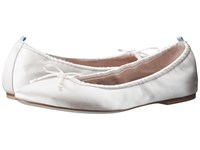 Sarah Jessica Parker Gelsey Flat Moonstone Satin Women's Flat Shoes Pink