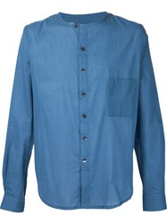 By Walid Round Neck Shirt Blue