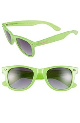 Women's Bcbgmaxazria 51Mm Retro Sunglasses Green Neon