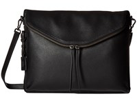 Tumi Noho Elizabeth Portfolio Crossbody Black Cross Body Handbags