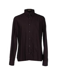 Galliano Shirts Deep Purple