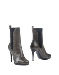 Yves Saint Laurent Ankle Boots Grey