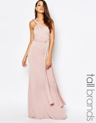 Tfnc Tall Multiway Maxi Dress Mauve Pink