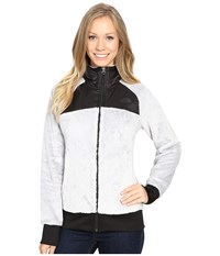 The North Face Oso Hoodie Lunar Ice Grey Tnf Black Women's Jacket White