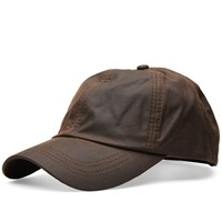 Barbour Wax Sports Cap Brown