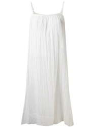 Dosa Loose Chemise Dress White