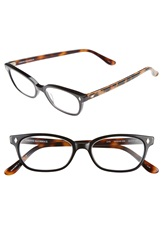 Corinne Mccormack 'Cyd' 50Mm Reading Glasses Black Leopard