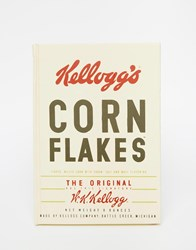 Gifts Monochrome Vintage Corn Flakes A5 Notebook Multi