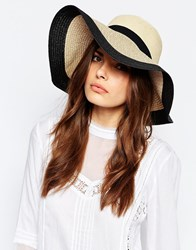 Vero Moda Straw Floppy Hat Multi
