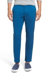 Bonobos Men's Big And Tall Slim Fit Washed Stretch Cotton Chinos Everland Teal