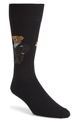 Men's Polo Ralph Lauren 'Martini Bear' Socks Black