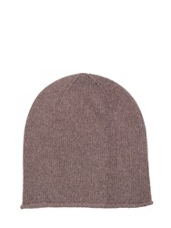 Johnstons Of Elgin Cashmere Jersey Hat Neutral