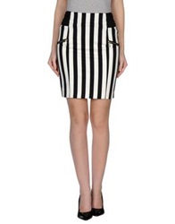 Guess By Marciano Knee Length Skirts White