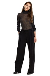 Bless Deep Pleated Trousers Black