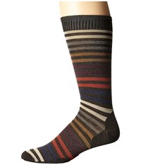 Smartwool Spruce Street Crew Chestnut Men's Crew Cut Socks Shoes Brown