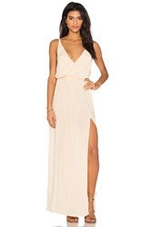 Blue Life High Tide Maxi Dress Beige