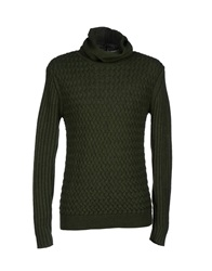 Eugenio Sorrentino Turtlenecks Green