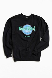 Urban Outfitters Vintage Hard Rock Cafe Orlando Crew Neck Sweatshirt Black