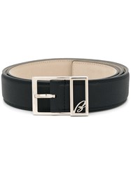 Brioni Buckle Detail Belt Blue
