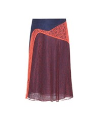 Tory Burch Kaisa Lace Skirt Red