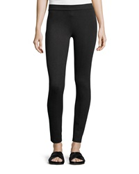 Vince Scrunch Jersey Ankle Leggings Charcoal Grey