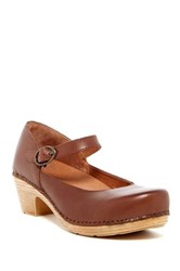 Dansko Margie Mary Jane Pump Brown
