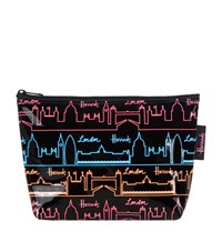 Harrods Neon City Travel Pouch Unisex