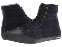 Seavees 08 61 Army High Wintertide Navy Men's Shoes