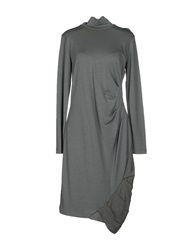 Guardaroba Knee Length Dresses Grey