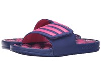 Adidas Adisage 2.0 3 Stripes Unity Ink Shock Pink Women's Slide Shoes Blue