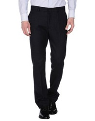 Band Of Outsiders Casual Pants Dark Blue