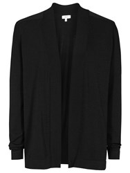 Reiss Lexa Knitted Cardigan Black