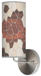 Jefdesigns Geode Wall Sconce
