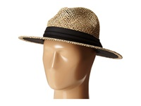 San Diego Hat Company Sgm502 Seagrass Panama Fedora W Cloth Band Black Fedora Hats