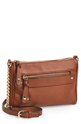 Junior Women's Bp. Double Stud Crossbody Bag Brown Cognac