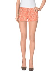 Jcolor Denim Denim Shorts Women Salmon Pink