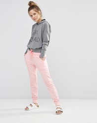Noisy May Kicks Back Pink Marl Harleem Pants Pink Marl