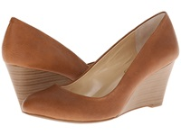 Jessica Simpson Sampson Almond Grain Women's Wedge Shoes Tan