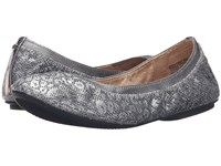Bandolino Edition Pewter Leopard Women's Flat Shoes