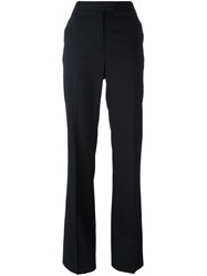 3.1 Phillip Lim Flared Tailored Trousers Blue