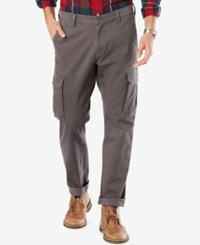 Dockers Alpha Athletic Fit Good Cargo Pants Burma Grey