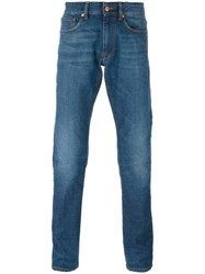 Incotex Tapered Jeans Blue