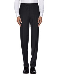 Canali Trousers Casual Trousers Men Black