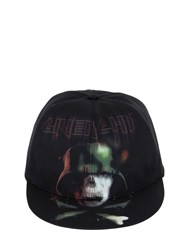 Givenchy Army Skull Printed Canvas Baseball Hat