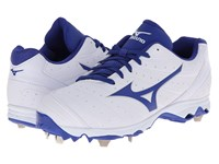 Mizuno 9 Spike Advanced Sweep 2 White Royal Women's Cleated Shoes