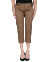 Adele Fado 3 4 Length Shorts Cocoa