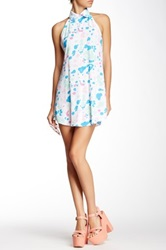 American Apparel Bib Dress Multi